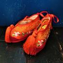 SFT-5837 中国花嫁シューズ<RED/24cm>