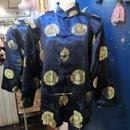 ZO-405A チャイナカンフーシャツ<BLU>