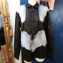 KS-CS025 ウィングプリントシャツ<BLK/M>