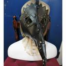 TS-4324 フェイクレザーペストマスク<BLK>