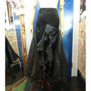 ELF-032  マーメイドベロアオーガンジースカート<BLK>