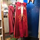 SCS-5380 刺繍入り祭服マント<RED>