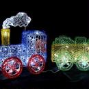 イルミネーション ディスプレイ 飾り 照明 ライティング クリスマス  トレイン 【L3D277】