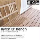 【AZUMAYA 東谷】バイロン 折りたたみ 天然木 アカシア 三人掛けベンチ AZ2-P183(NX-905)