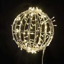 LED イルミネーション 3D モチーフ ワイヤーボール  ディスプレイ ショップ 装飾 クリスマス ガーデン 庭 Φ30cm【L3D902】CR-86