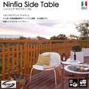 【Nardi ナルディ】ニンフィア サイドテーブル(全2色)TK-P836