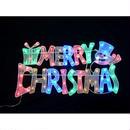 LED イルミネーション ディスプレイ 飾り 照明 ライティング クリスマス  カラフルメリークリスマス【L2DM285】CR-79