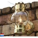 100V【DEN HAAN ROTTERDAM  デンハーロッテルダム】真鍮 グローブランプ マリン オランダ 室内外 ブラケット 照明 ライト インテリア アンティーク GA-121