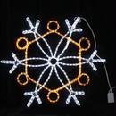 イルミネーション ディスプレイ 飾り 照明 ライティング クリスマス  雪 LEDスノーフレーク 白・黄色【L2DM239】CR-78