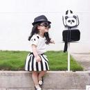 パンダ Tシャツ&スカート セットアップ