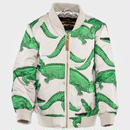 mini rodini ミニロディーニ Crocodile Aop Jacket ジャケット 定価$140