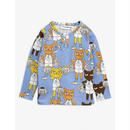 mini rodini ミニロディーニ CHEER CATS GRANDPA SHIRT シャツ 定価$59