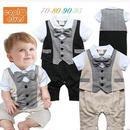 子供用 半袖フォーマル服 タキシード     baby-87
