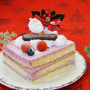 【X'masご予約品】厚真産ハスカップの ショートケーキ 10㎝X12㎝