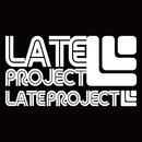 【残り1枚】カッティングステッカー【LATEproject定番ロゴ】ホワイト・2種類セット