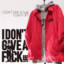 3days limited・Coach JKT『I DON'T GIVE A FxxK』RED×BLACK 【限定5着】
