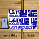 メタルフレーク・カッティングステッカー5枚セット【限定のため在庫限り・A4サイズ】ゴールド、ブルー、