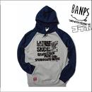 DVDリリース記念『BANPSコラボ・ポケットファスナー付きパーカー』ネイビーグレイ×ブラック【限定10着】