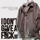 3days limited・Coach JKT『I DON'T GIVE A FxxK』GRAY×BLACK 【限定14着】