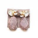 campbell / SWAROVSKI / ASSORT2 / chocolatestoneイヤリング