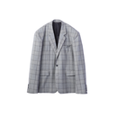 JOHN LAWRENCE SULLIVAN  GLEN CHECK 2BUTTON JACKET