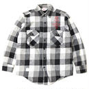 PRINTED USED FLANNEL SHIRT - MONO