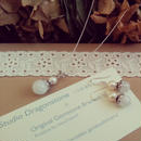moonlight* Happy necklace&Happierce set