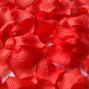 フラワーシャワー 結婚式 二次会 パーティー レッド 赤 バラ 造花 花びら ウエディンググッズ 2次会 パーティー お祝い たっぷり1000枚