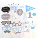 1歳 誕生日 飾り 男の子 バースデー フォト プロップス  グッズ コスチュームスティック 仮装 パーティー 小物  装飾 フォトアイテム