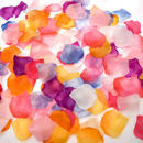 フラワーシャワー 結婚式 8色MIX 造花 花びら ウエディンググッズ 2次会 パーティー お祝い たっぷり1000枚