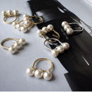 three pearl ring