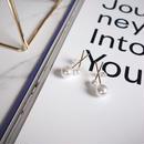 cross pearl pierce