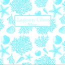 『Lagoon』Glass white