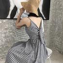 予約販売一週間 Grid Dress