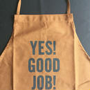 "⭕️ [限定発売] DRESSSEN DR(BRN) APRON  "" YES! GOOD JOB!""  BROWN  COLOR※7月20日再入荷しました!"