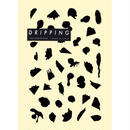 DRIPPING Sticker M 39(ブラックマット)