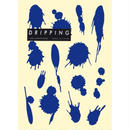 DRIPPING Sticker M(コバルトブルー)