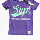 APPAREL FEDERATION MENS TEE (VintagePurple/Mint)