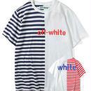 新品 数量限定   【オフホワイト OFF-WHITE】高品質 メンズ レディース 半袖Tシャツ[OW-314]