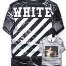 新品 数量限定  【オフホワイト OFF-WHITE】超高品質 限定品 激安 メンズ レディース ファッション 通販 半袖 Tシャツ [OW-103]