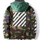 新品 数量限定  【オフホワイト OFF-WHITE】超高品質  ジャケット アウター メンズファッション [OW-22]