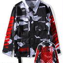 新品 数量限定  【オフホワイト OFF-WHITE】超高品質 ジャケット アウター シャツ メンズファッション [OW-429]