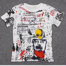 新品 数量限定   【オフホワイト OFF-WHITE】DOODLE SWAG Rocky 高品質 メンズ レディース 半袖Tシャツ[OW-325-1]