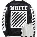 新品 数量限定  【オフホワイト OFF-WHITE】超高品質 メンズ レディース 長袖 スウェット [OW-31]
