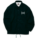 Brain Logo Coach Jacket -Black-