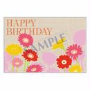 メッセージカード バースデー 14-0664 1セット(10枚)