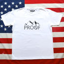 """PROOF"" PROOF LOGO S/S TEE (WHITE)"
