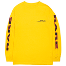 """""""RARE PANTHER"""" OAKLAND L/S TEE (YELLOW)"""