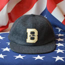 """THE BROOKLYN CIRCUS"" FELT ""B"" VARSITY CAP (GREY)"