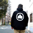 """HIGH LINE MAPLE LEAF"" MOUNTAIN PARKA (BLACK)"